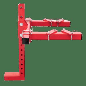 Quad (ATV) bracket height-adjustable